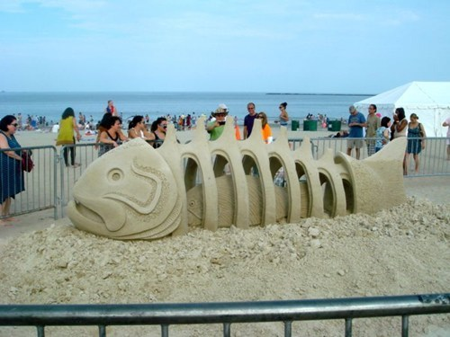 sand sculpture design beach sand - 6962350848