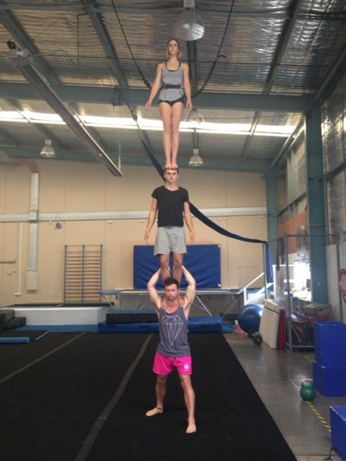 gymnastics,balance,BAMF