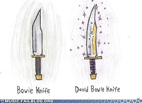 bowie knife puns david bowie - 6962466816
