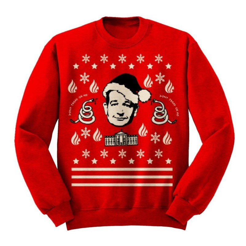 christmas list president sweater - 696325