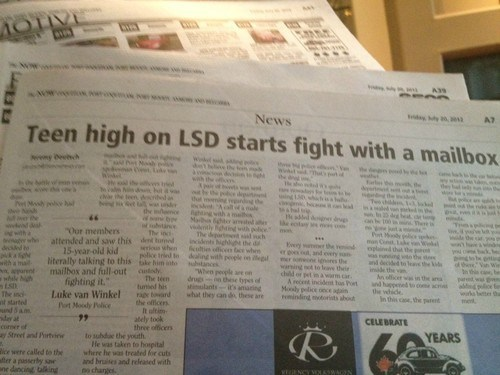 drugs mailbox acid high newspaper - 6964287744