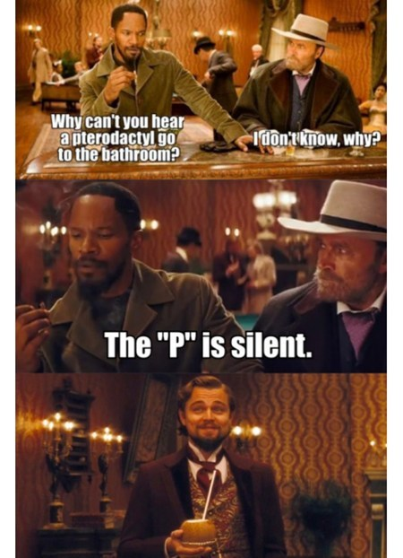 bathroom humor Movie pterodactyl django unchained - 6964299008