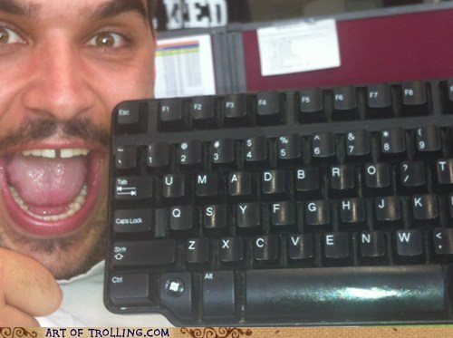 computer u mad bro keyboard - 6964381184
