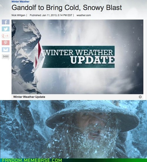 Lord of the Rings weather gandalf - 6964384256