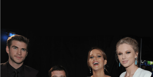 taylor swift actor jennifer lawrence liam hemsworth josh hutcherson funny - 6964529920