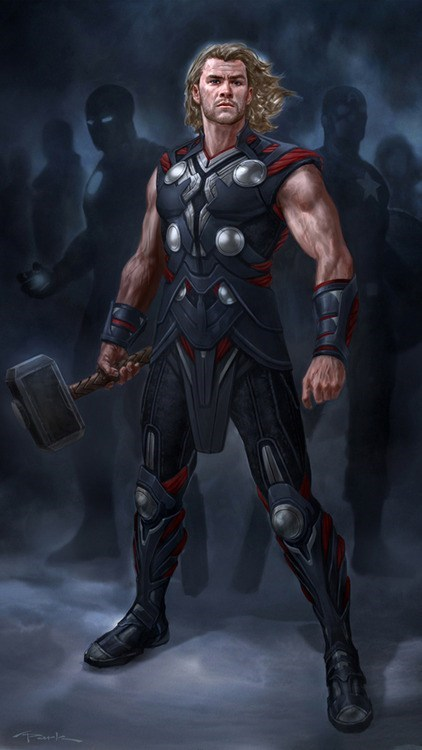Thor art awesome avengers - 6964562688