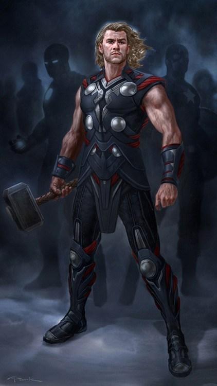 Thor art awesome avengers - 6964562688