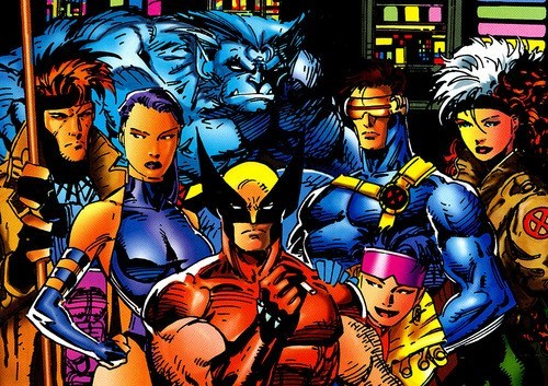 Jim Lee x men of the page classic - 6964575232