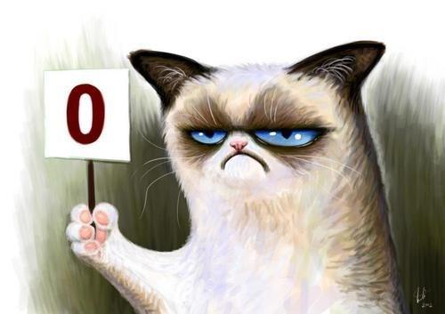 tardar sauce art score zero comic Grumpy Cat - 6964577536