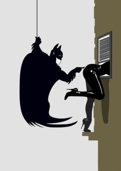 art catwoman batman - 6964591104