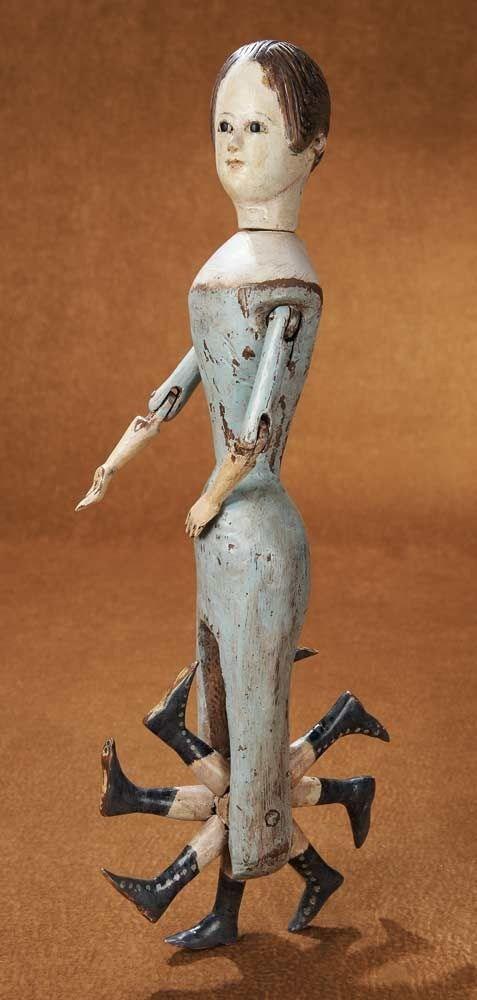 creepy doll walking vintage - 6964811008