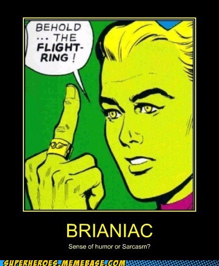 middle finger flight ring braniac