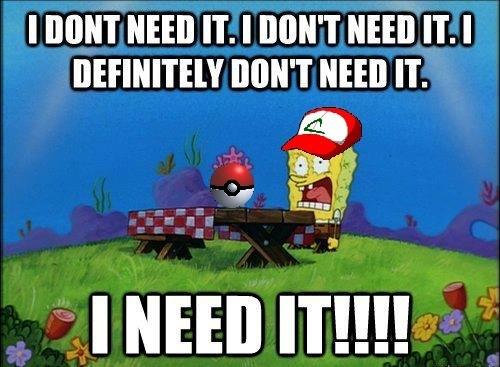 Pokémon need it SpongeBob SquarePants 3DS - 6964979712