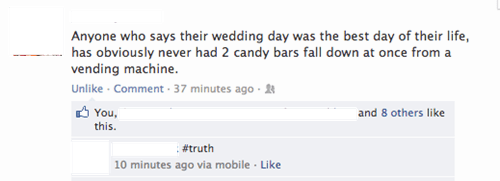 candybars,wedding day,happy