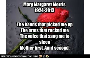 For Aunt Mary