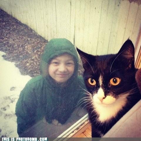 cat kid outside - 6965593344
