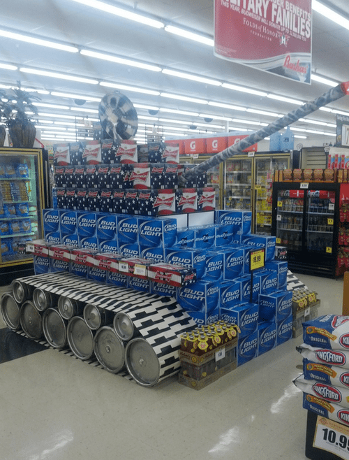 beer tank store display - 6965608192