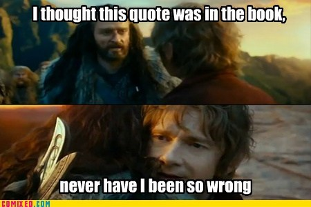 lead Movie The Hobbit so wrong book quote