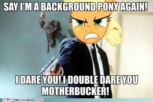 Applejack had enough