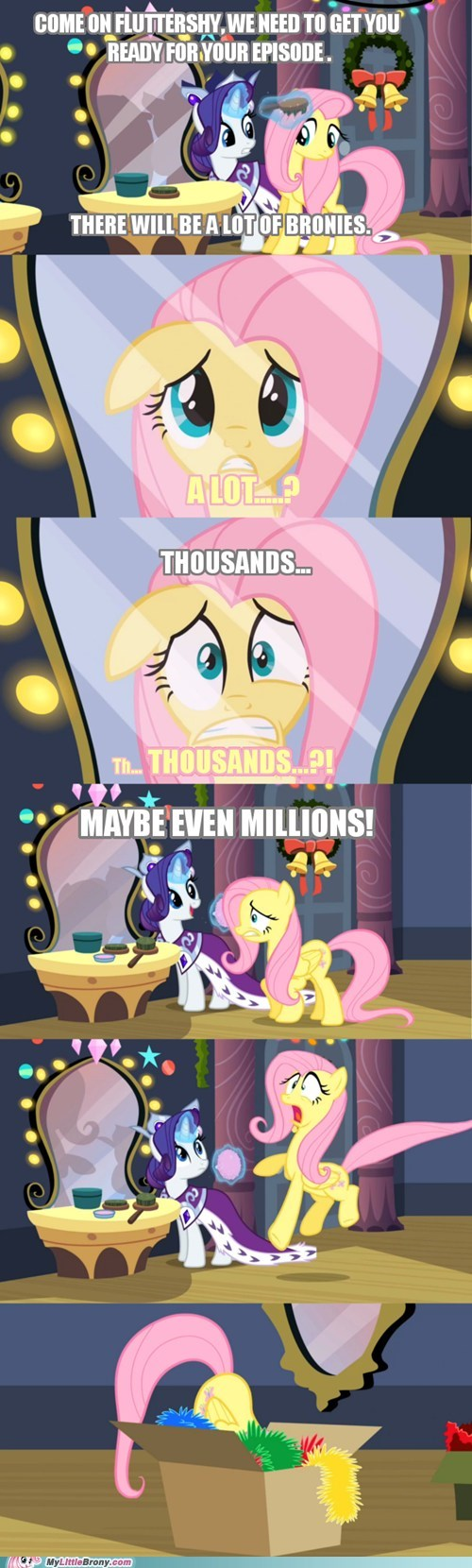 keep calm and flutter on shy fluttershy - 6966553344