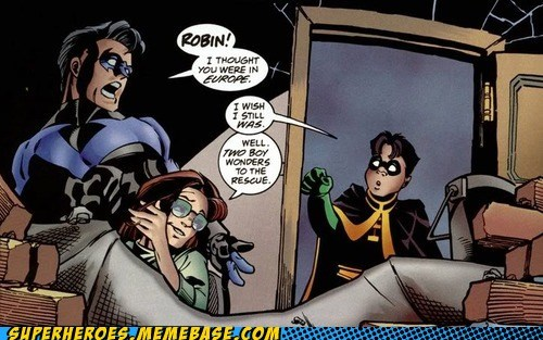 nightwing,robin,uh oh,oracle