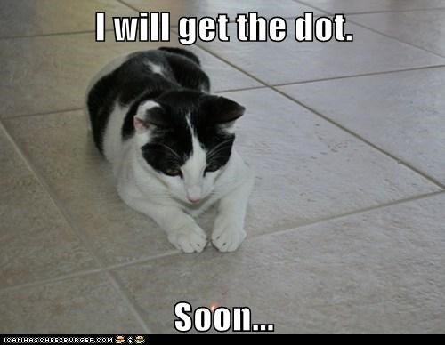 I will get the dot.  Soon...