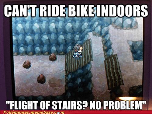 bicycles stairs gameplay video game logic - 6966789120