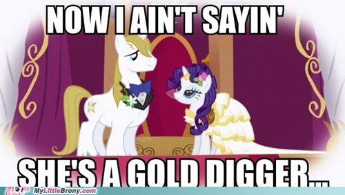 gold digger,rarity,bendy doesn't care