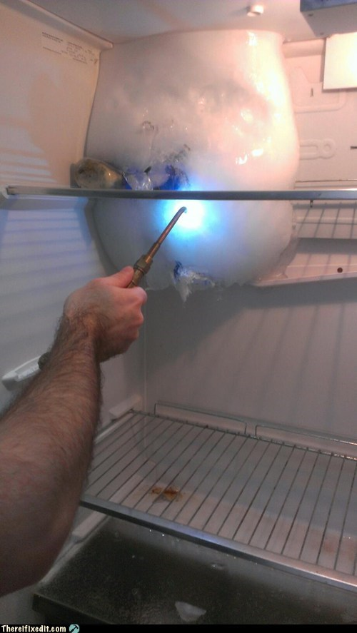 flame torch refrigerator fridge g rated there I fixed it - 6967385600