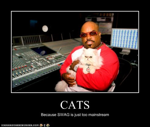cee-lo green swag mainstream Cats
