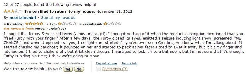 reviews gremlins furbies - 6967975168
