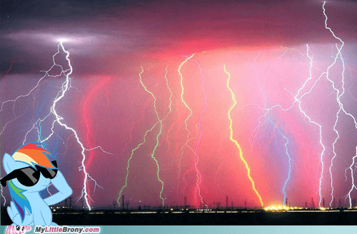 amazing lightning rainbow dash omg - 6967983360