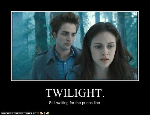 kristen stewart punch line edward cullen robert pattinson twilight joke bella swan - 6968316672