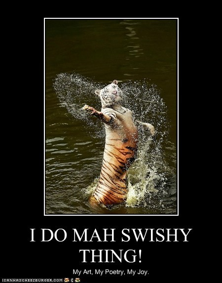 I DO MAH SWISHY THING!