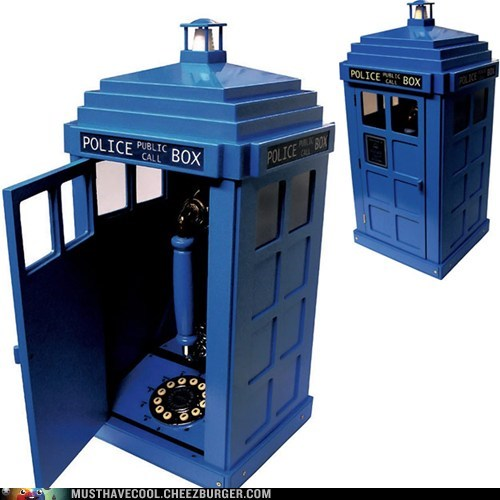 telephone tardis doctor who