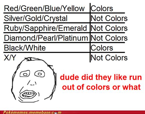 fanboys gems colors X/Y - 6969640704