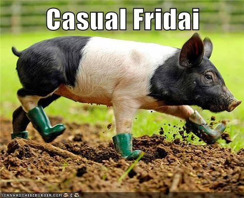 work,boots,mud,pig,casual friday