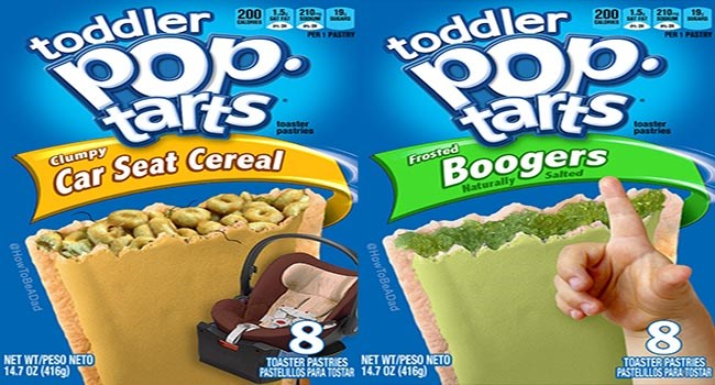 pop tarts toddlers flavors funny - 6970373