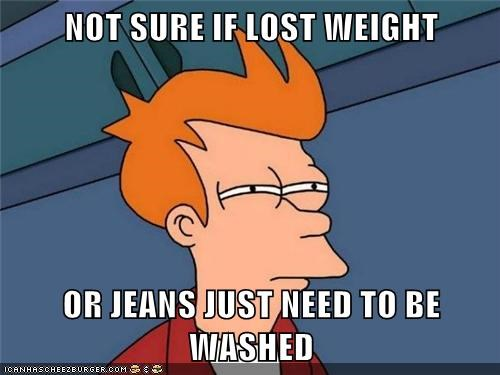 jeans,weight,cant tell if