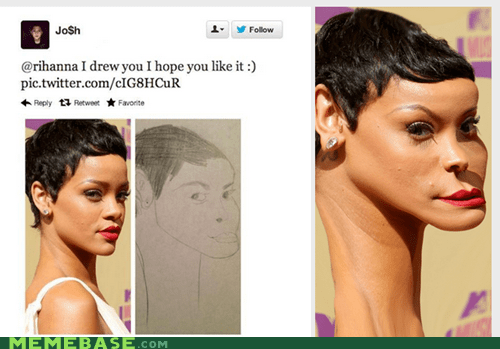 twitter Fan Art rihanna - 6971135744