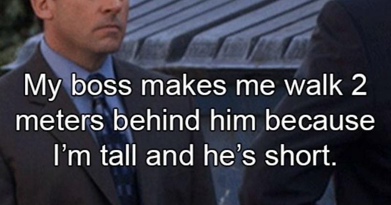 weird boss stories, michael scott
