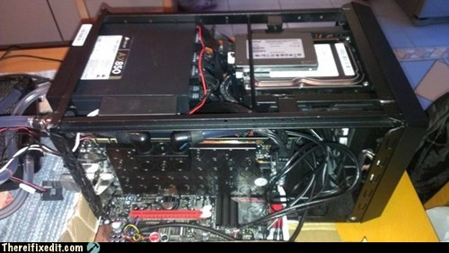 Motherboard does not fit computer