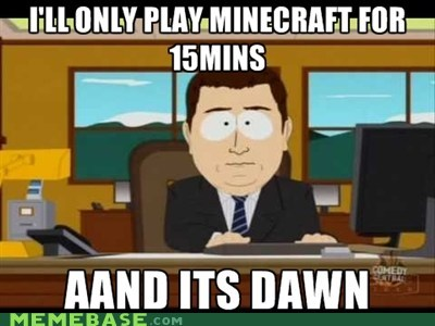 aand it's gone minecraft video games