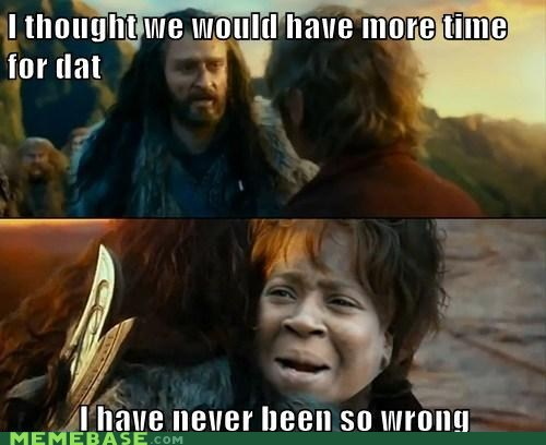 crossover,aint-nobody-got-time,Sudden Change of Heart Thorin,sweet brown