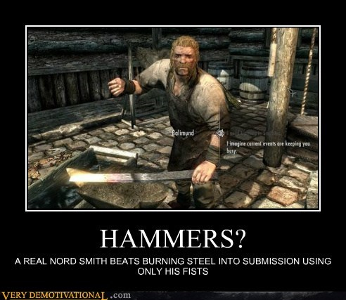 HAMMERS? A REAL NORD SMITH BEATS BURNING STEEL INTO SUBMISSION USING ONLY HIS FISTS