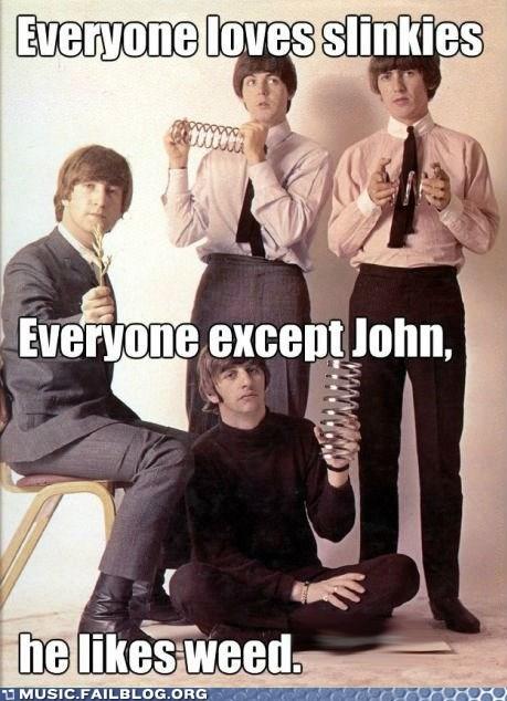 the Beatles slinkys weed - 6972095744