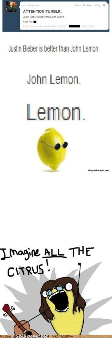 john lennon tumblr all the things lemon - 6972097792