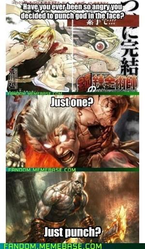 god god of war re-frames kratos - 6972111616