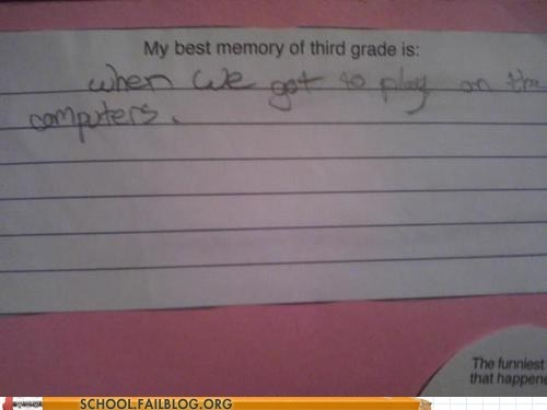 memory,computers,3rd grade,times