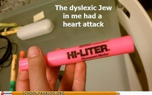hi-liter dyslexic highlighter hitler